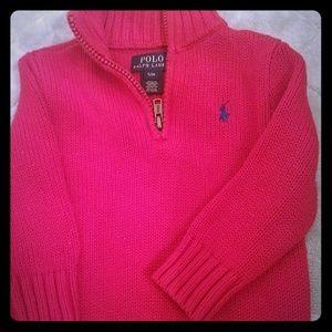 ❤Ralph Lauren Polo sweater sz 12mo